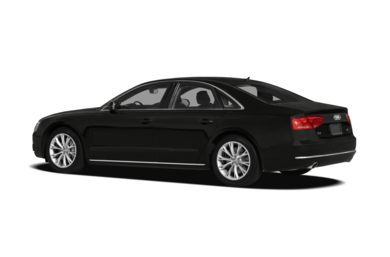 Surround 3/4 Rear - Drivers Side  2013 Audi A8