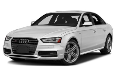 3/4 Front Glamour 2016 Audi S4