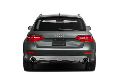 Rear Profile  2013 Audi allroad