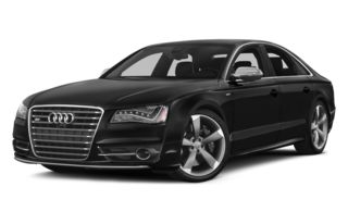 3/4 Front Glamour 2013 Audi S8