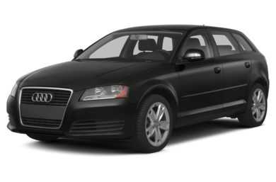 3/4 Front Glamour 2013 Audi A3