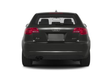 Rear Profile  2013 Audi A3