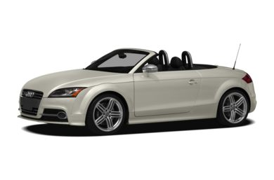 3/4 Front Glamour 2013 Audi TTS