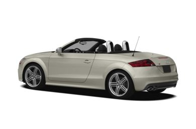 Surround 3/4 Rear - Drivers Side  2013 Audi TTS