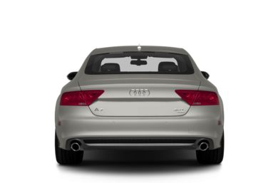 Rear Profile  2013 Audi A7