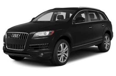 3/4 Front Glamour 2013 Audi Q7