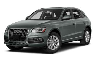 3/4 Front Glamour 2014 Audi Q5