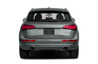 Rear Profile  2015 Audi Q5