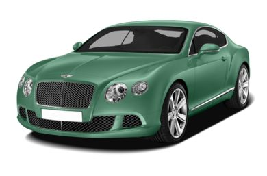 3/4 Front Glamour 2013 Bentley Continental GT
