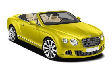 3/4 Front Glamour 2013 Bentley Continental GTC