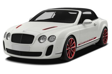 3/4 Front Glamour 2013 Bentley Continental Supersports