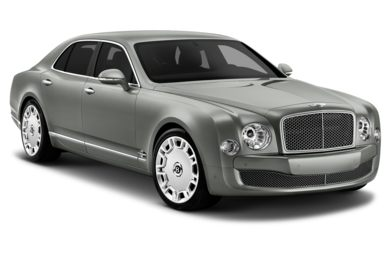 3/4 Front Glamour 2013 Bentley Mulsanne