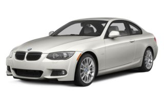3/4 Front Glamour 2013 BMW 335