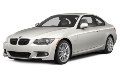 3/4 Front Glamour 2013 BMW 328