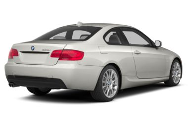 3/4 Rear Glamour  2013 BMW 335