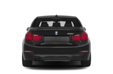 Rear Profile  2014 BMW 328