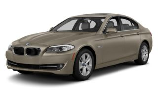 3/4 Front Glamour 2013 BMW 535