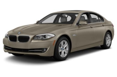 3/4 Front Glamour 2013 BMW 550
