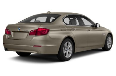 3/4 Rear Glamour  2013 BMW 550