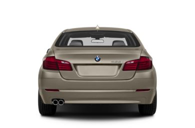 Rear Profile  2013 BMW 550