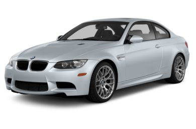 3/4 Front Glamour 2013 BMW M3