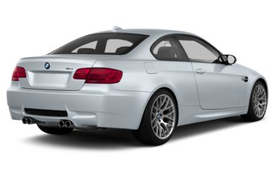 3/4 Rear Glamour  2013 BMW M3
