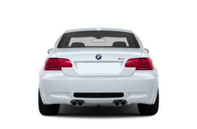 Rear Profile  2013 BMW M3