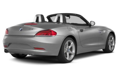 3/4 Rear Glamour  2013 BMW Z4