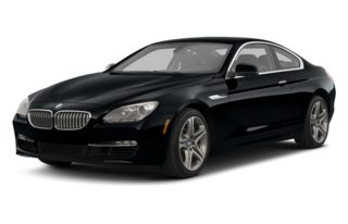 3/4 Front Glamour 2013 BMW 640