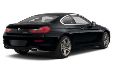 3/4 Rear Glamour  2013 BMW 650