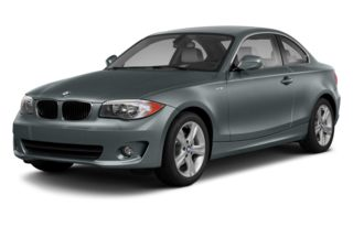3/4 Front Glamour 2013 BMW 135