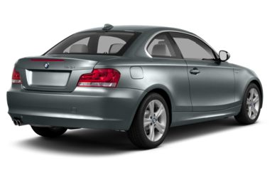 3/4 Rear Glamour  2013 BMW 135