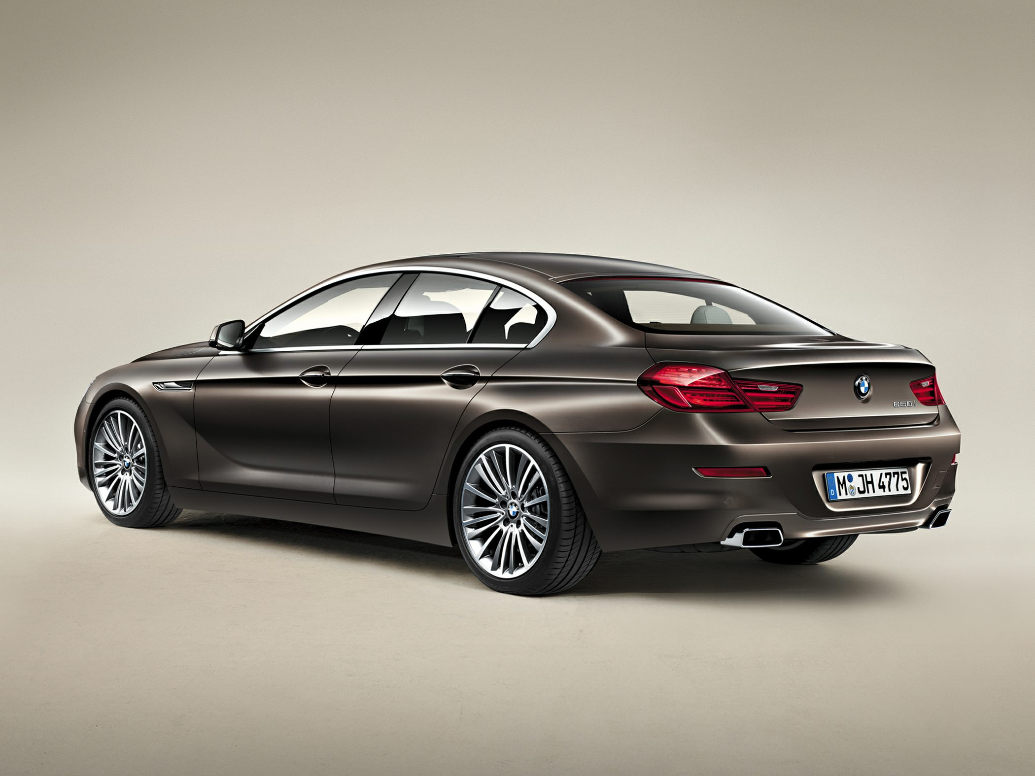 2015 BMW 640 Gran Coupe Rear