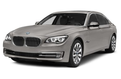 3/4 Front Glamour 2013 BMW ActiveHybrid 740