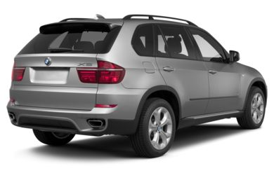 3/4 Rear Glamour  2013 BMW X5