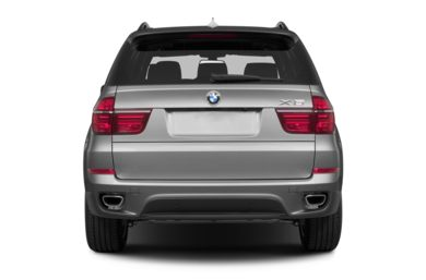 Rear Profile  2013 BMW X5