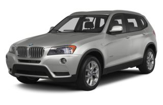 3/4 Front Glamour 2013 BMW X3