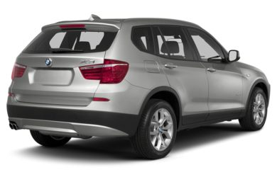 3/4 Rear Glamour  2013 BMW X3