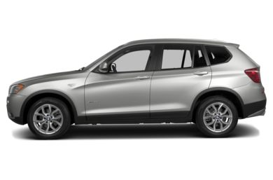 90 Degree Profile 2013 BMW X3