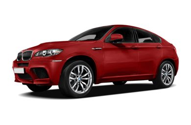 3/4 Front Glamour 2013 BMW X6 M