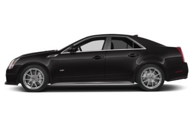 90 Degree Profile 2013 Cadillac CTS-V