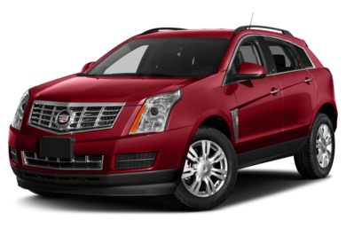 3/4 Front Glamour 2014 Cadillac SRX
