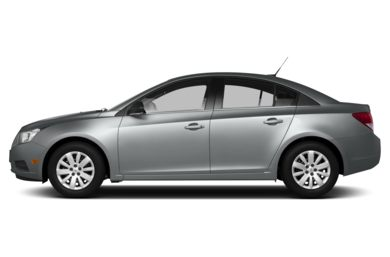 90 Degree Profile 2013 Chevrolet Cruze