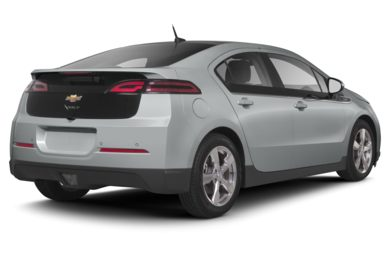 3/4 Rear Glamour  2013 Chevrolet Volt
