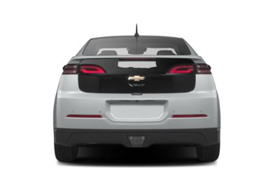 Rear Profile  2013 Chevrolet Volt