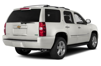 3/4 Rear Glamour  2013 Chevrolet Tahoe
