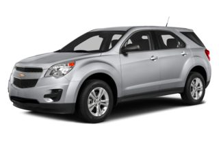 3/4 Front Glamour 2013 Chevrolet Equinox