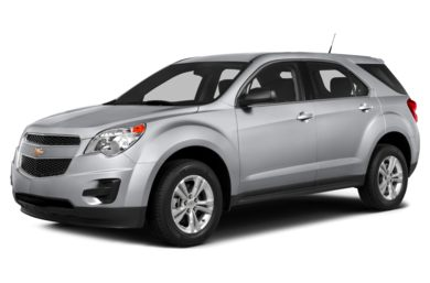 3/4 Front Glamour 2014 Chevrolet Equinox