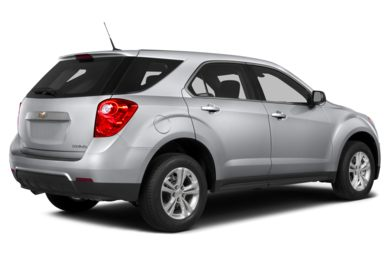 3/4 Rear Glamour  2013 Chevrolet Equinox