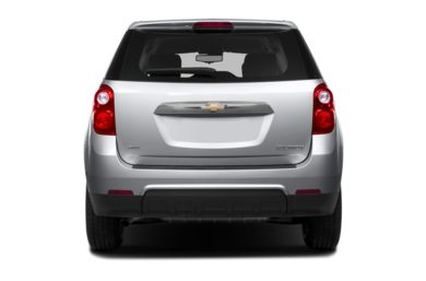 Rear Profile  2013 Chevrolet Equinox
